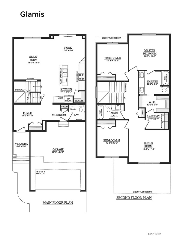 Manning Village Showhome Floorplan