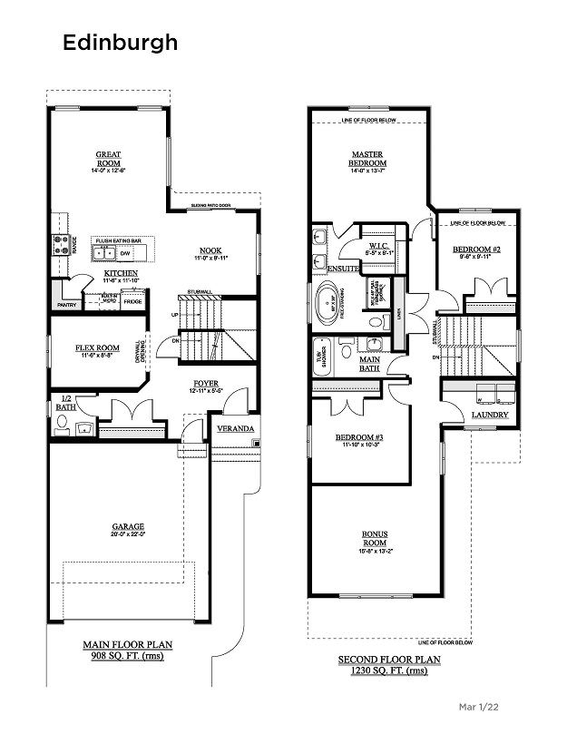 Laurel Crossing Showhome Floorplan